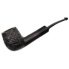 English Estates Ashton Pebble Grain Bent Billiard (ELX) (2015) (Unsmoked)