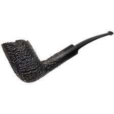 English Estates Ben Wade Sandblasted Bent Billiard (Unsmoked)