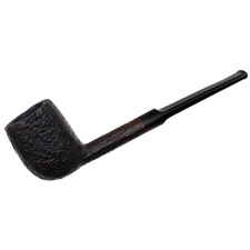 English Estates Barling King T. V. F. Sandblasted Billiard (6589) (Post-Transition)