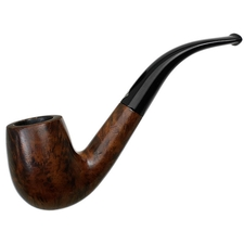 English Estates BBB Silver Grain Bent Billiard (304)