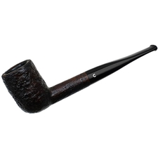 English Estates Comoy's Sandblasted Billiard (186) (Pre-1980) (Replacement Stem)