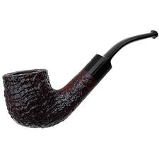 English Estates Ashton Pebble Grain Bent Billiard (XXX) (2015) (Unsmoked)