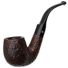 English Estates Comoy's Pebble Grain Bent Billiard (215) (pre-1980) (Replacement Stem)