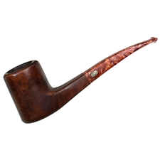 English Estates GBD Bronze Velvet Smooth Bent Billiard (9665) (Pre-1980)