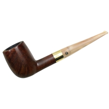 English Estates Comoy's Celebration Smooth Billiard with 18K Gold Band (28) (1976)