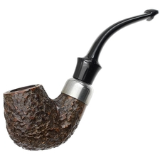 English Estates Barling Rusticated Bent Billiard (Unsmoked)