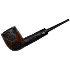 English Estates GBD Fantasy Partially Sandblasted Billiard (9447) (Pre-1980)