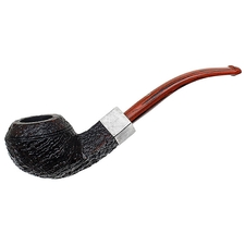 English Estates Ashton Pebble Grain Bent Bulldog with Silver (XX) (2014) (Unsmoked)