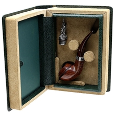English Estates Dunhill Amber Root Christmas Pipe 1999 (Seven Swans a-Swimming) (150/500) (Unsmoked)