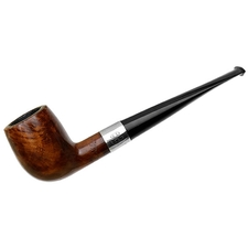 English Estates Wally Frank Limited Billiard with Silver (Twin Bore Replacement Stem)