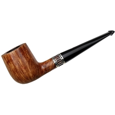 English Estates Northern Briars Premier Billiard with Engine Turned Silver Band (4) (2016) (Unsmoked)