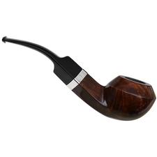 English Estates Castleford Smooth Bent Bulldog with Silver (Unsmoked)