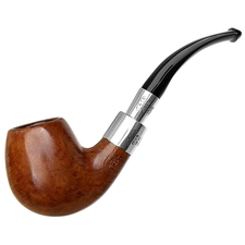 English Estates Loewe & Co. Smooth Bent Billiard with Silver Spigot (909) (1982) (Unsmoked)