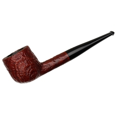 English Estates BBB Burgundy Sandblasted Pot (522)