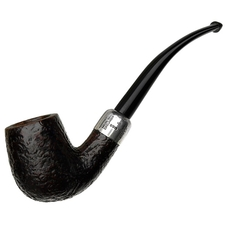 English Estates Dunhill Shell Briar with Silver Army Mount (41022) (1978)