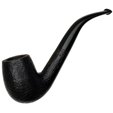 English Estates Digby Sandblasted Bent Billiard (508) (by GBD)
