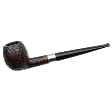 English Estates Dunhill Shell Briar (112) (F/T) (Aftermarket Band Repair) (Replacement Stem)