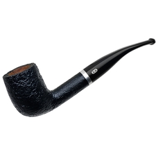 French Estates Chacom Sandblasted Bent Billiard (866) (Unsmoked)