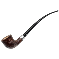 French Estates Chacom Sandblasted Bent Dublin Churchwarden (F4) (Unsmoked)