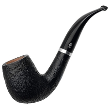 French Estates Chacom Sandblasted Bent Billiard (100) (Unsmoked)