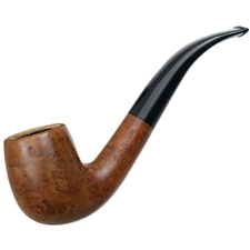 French Estates Butz-Choquin Meerschaum Lined Cappadoce Ecume Smooth Bent Billiard (1304)