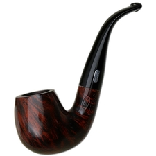 French Estates Ropp Bergerac Smooth Bent Billiard (2440-5) (Unsmoked)