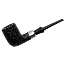 Irish Estates Peterson Pipe of the Year Sandblasted Billiard (Fishtail) (2014) (Unsmoked)