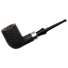 Irish Estates Peterson Pipe of the Year Rusticated Billiard (Fishtail) (2014) (Unsmoked)