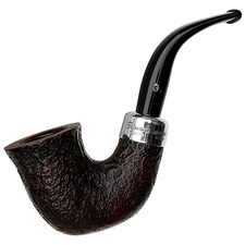 Irish Estates Peterson Sandblasted Spigot (05) (Fishtail) (2014) (Replacement Stem) (Unsmoked)