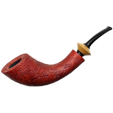 German Estates Jopp Sandblasted Horn with Boxwood (****) (9mm) (Unsmoked)