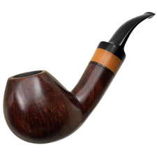 German Estates Peter Klein Smooth Bent Brandy (9mm)