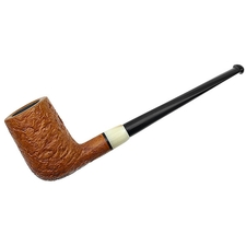 German Estates Jurgen Moritz Sandblasted Billiard with Horn (1213) (Unsmoked)