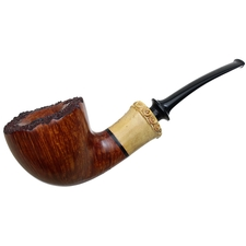 German Estates Frank Axmacher Smooth Bent Dublin with Bamboo (AA) (2014) (Unsmoked)
