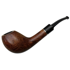 German Estates Design Berlin 'Schwerin-61' Smooth Bent Egg (Twin Bore) (9mm)