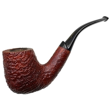 Italian Estates Savinelli Autograph Sandblasted Bent Billiard (4)