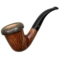 Italian Estates Moretti Smooth Calabash with Morta Rim (dddd2) (2015) (Unsmoked)