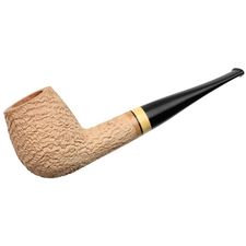 Italian Estates Tonino Jacono Sandblasted Billiard with Boxwood (Pawn) (E) (13) (Unsmoked)