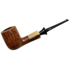 Italian Estates Savinelli Nonpareil Smooth with Horn (9128) (Unsmoked)