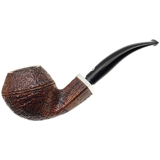 Italian Estates Il Ceppo Sandblasted Bent Bulldog with Silver (1)