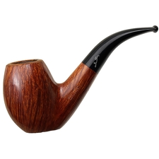 Italian Estates Savinelli Autograph Partially Sandblasted Bent Egg (5) (6mm)