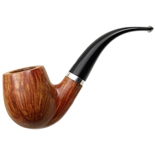 Italian Estates Il Ceppo Smooth Bent Billiard with Silver (4)