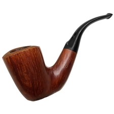 Italian Estates Savinelli Autograph Partially Sandblasted Bent Dublin (4)
