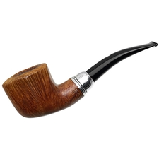 Italian Estates Rinaldo Egea Collection Smooth Paneled Bent Dublin with Silver (SL-9) (04)