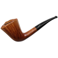 Italian Estates Savinelli Autograph Smooth Bent Dublin (00) (6mm) (Unsmoked)