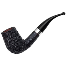Italian Estates Savinelli Linea Piu Bent Billiard with Silver (5) (6mm) (Unsmoked)