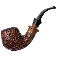 Italian Estates Il Ceppo Sandblasted Bent Billiard (1)