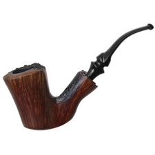 Italian Estates Savinelli Autograph Partially Sandblasted Freehand (4)