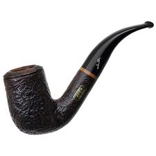 Italian Estates Savinelli Collection 2008 Sandblasted Bent Billiard (6mm)