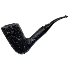 Italian Estates Savinelli Autograph Partially Sandblasted Freehand (5) (Unsmoked)