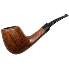Italian Estates Savinelli Autograph Smooth Bent Billiard (0) (c. 1970s-1980s)